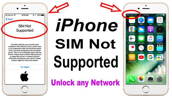 iPhone hardware unlocking using R-sim and ICCID exploit