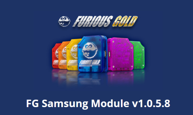 Furious Gold Box update 1.0.5.8 for Samsung Code Reader module