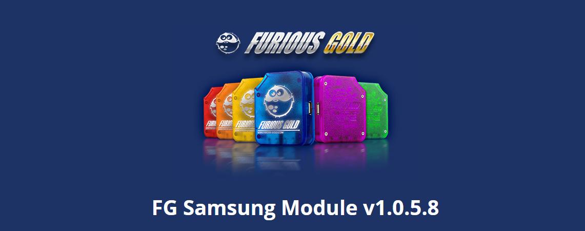 Furious Gold Box update 1.0.5.8 for Samsung Code Reader module